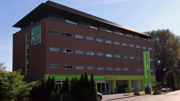 Hotel Greenrooms - Aussenansicht