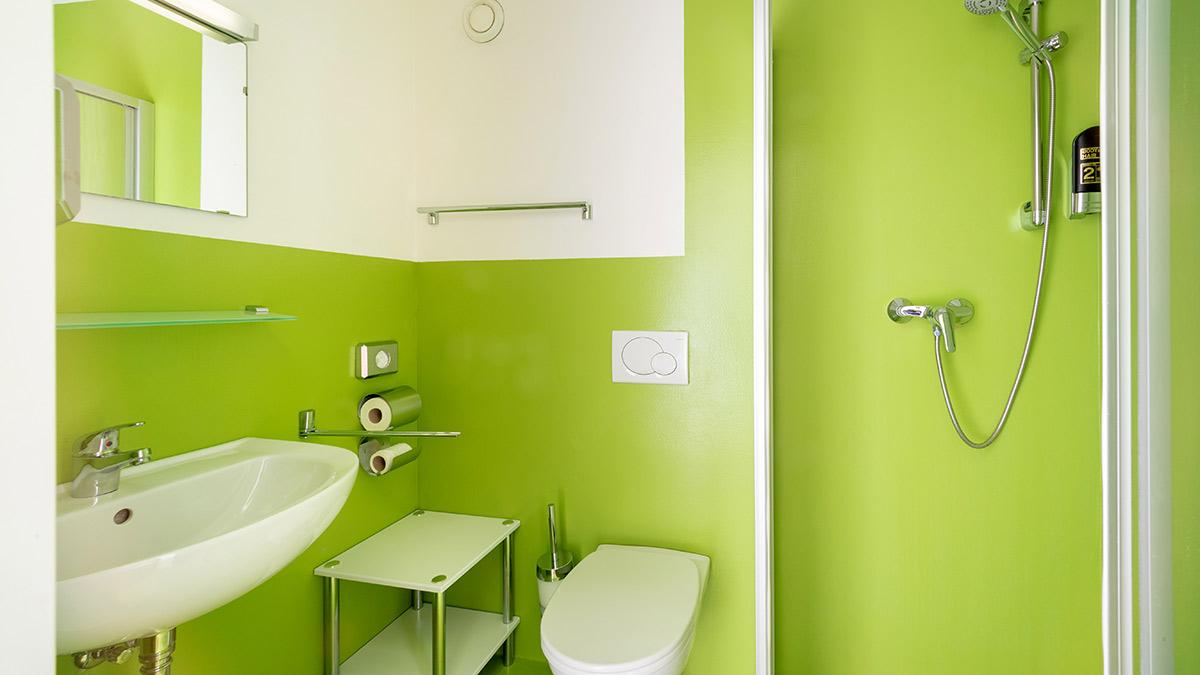 Hotel Greenrooms - Badezimmer