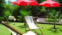 Hotel Greenrooms - Terrasse