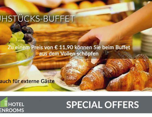 Hotel-Topangebote – Frühstücksbuffet in Graz