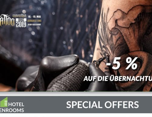 Tattoo Convention Hotel-Rabatt