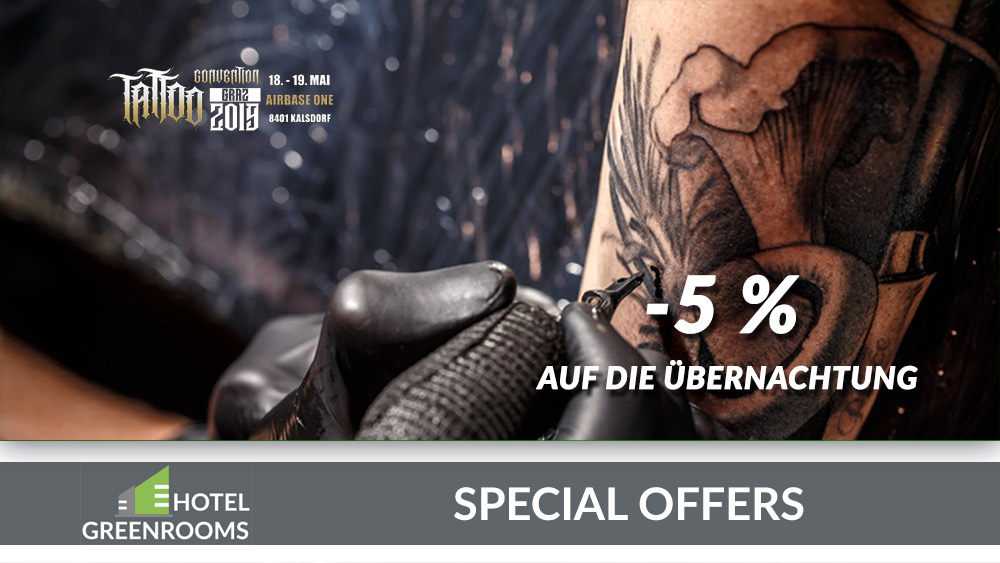 Hotel-Angebot-Graz-Tattoo-Convention-2019-Greenrooms
