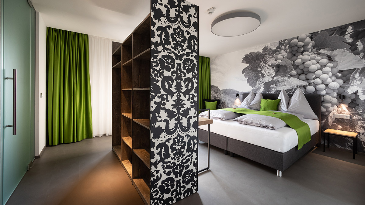 Double room deluxe booking - Graz - Variant B - Hotel Greenrooms - Styria - Austria