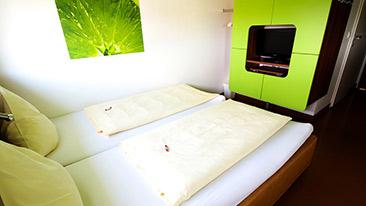 Doppelbett-Zimmer buchen - Graz - Greenrooms - Steiermark - Österreich