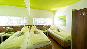 TWIN ROOMS - Hotel Greenrooms - Graz - Austria