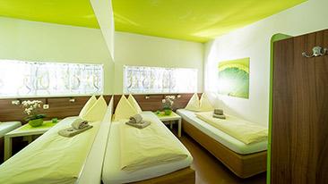 Zweibettzimmer buchen - Twin-Rooms buchen - Graz - Hotel Greenrooms - Steiermark - Österreich