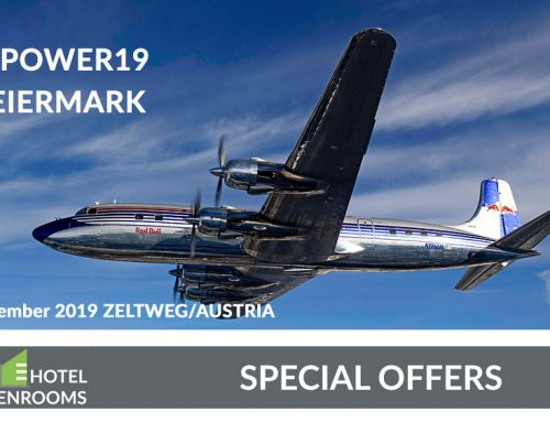 Hotel Graz – Greenrooms –  Top Offers – Airpower 2019 – Styria