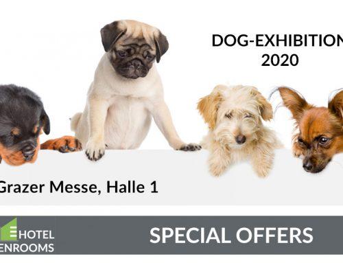 Dog Exhibition 2020 – Graz – Hotel-Offer