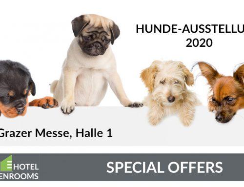 Hundeausstellung 2020 – Graz – Hotel-Angebot